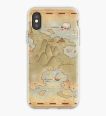 Map of Neverland iPhone Case
