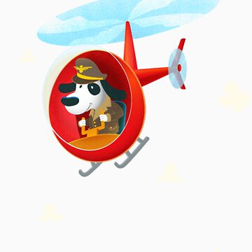 Helicopter dog by Sandhop