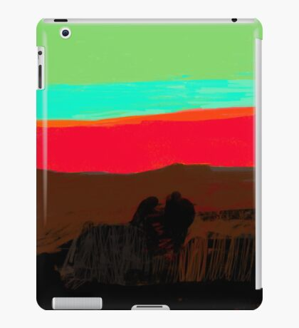 Sunset at Egremni  iPad Case/Skin
