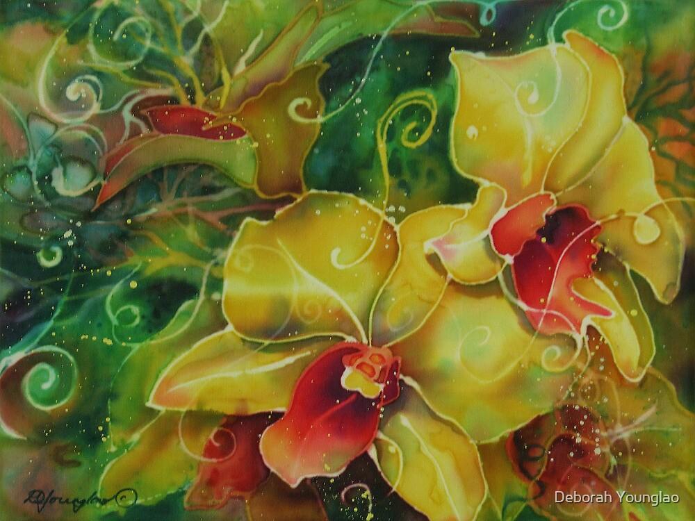 Orchid Series 11 by Deborah Younglao