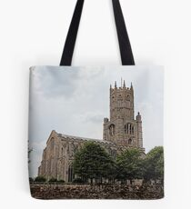 St Mary the Virgin and All Saints Church, Fotheringhay Tote Bag