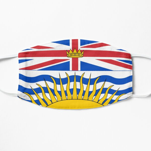 British Columbia Flag Mask