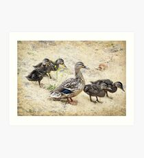 Family Outing Art Print