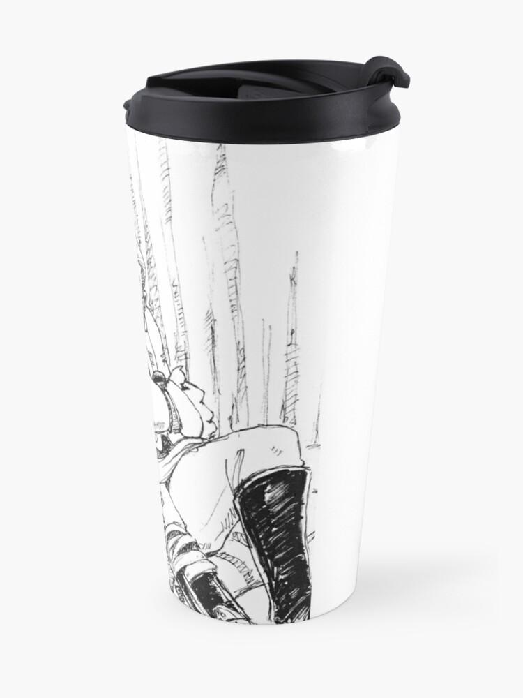 Alternate view of honorable cuddle Travel Mug