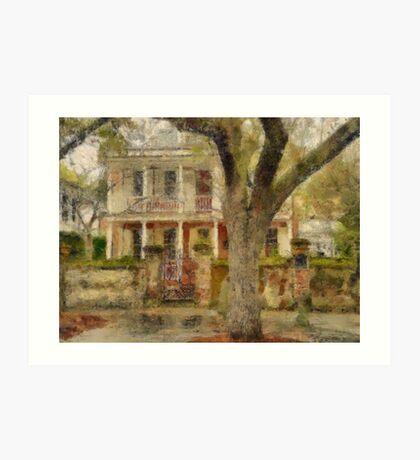 Church Street - Charleston South Carolina SC Art Print