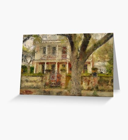 Church Street - Charleston South Carolina SC Greeting Card