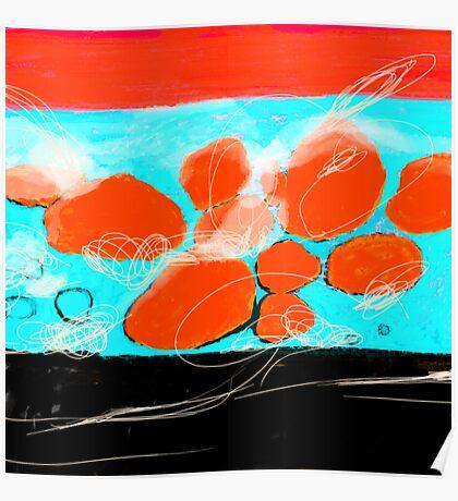 Waves of Porto Katsiki Poster