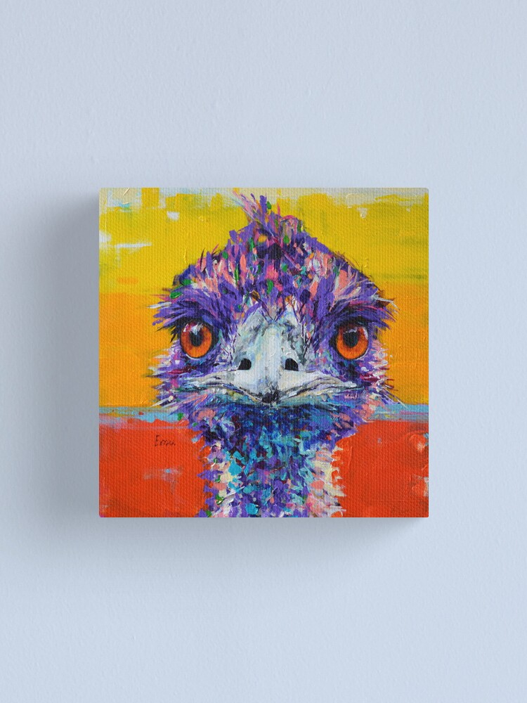 Alternate view of 'Bird from the Bush' Canvas Print