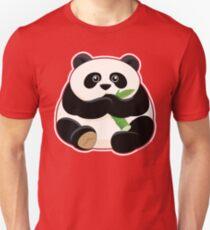 Cute Fat Panda Unisex T-Shirt
