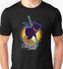 Ninja Squirrel Unisex T-Shirt