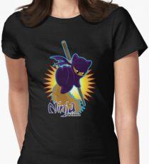 Ninja Squirrel Women's Fitted T-Shirt