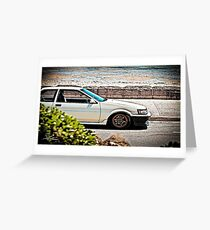 Ae86 levin Greeting Card