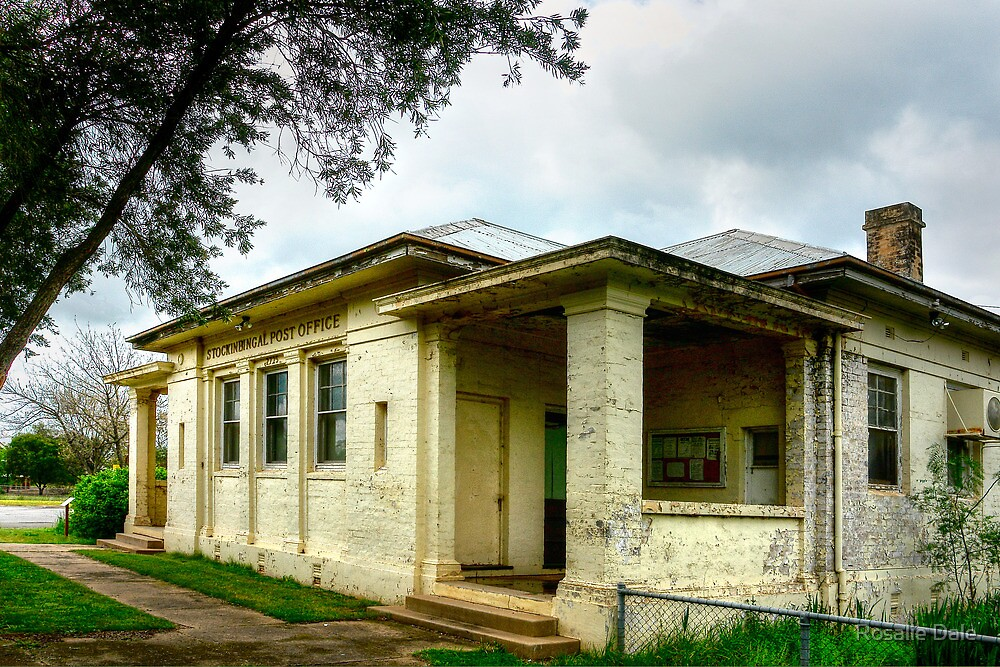 Historic Post Office Stockinbingal by Rosalie Dale