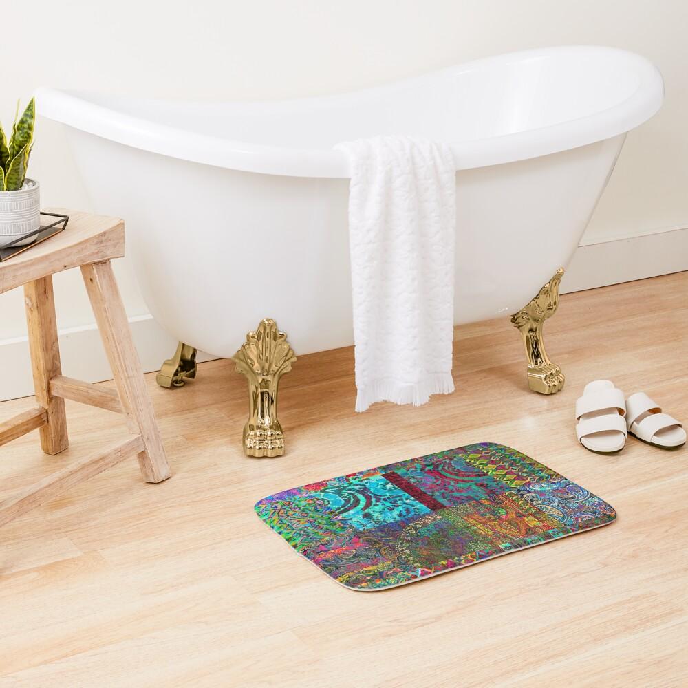 Bohemian Wonderland Bath Mat