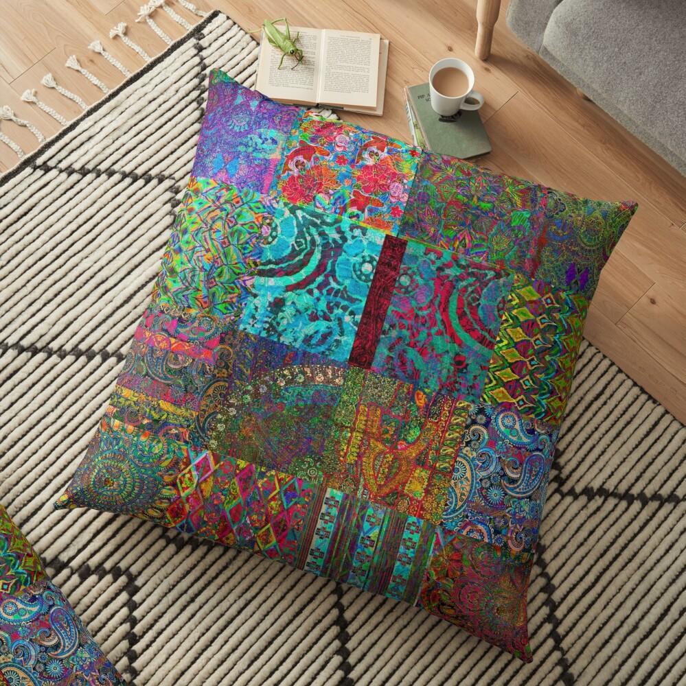 Bohemian Wonderland Floor Pillow