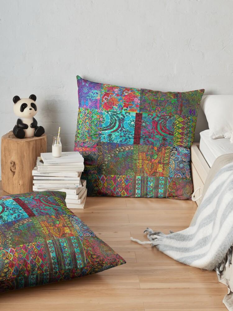 Alternate view of Bohemian Wonderland Floor Pillow