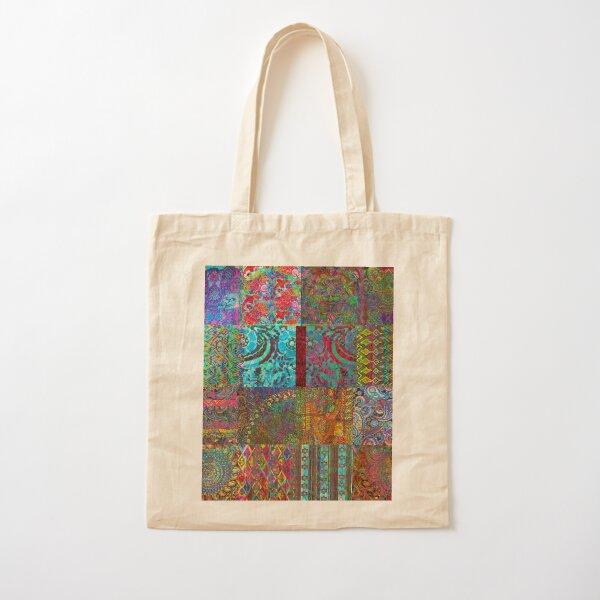Bohemian Wonderland Cotton Tote Bag