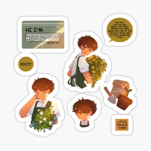 Plant Boy Milo Sticker Pack Sticker