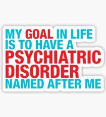 Psychiatric Sticker