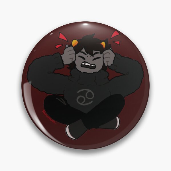 Homestuck Beta Trolls heart pins