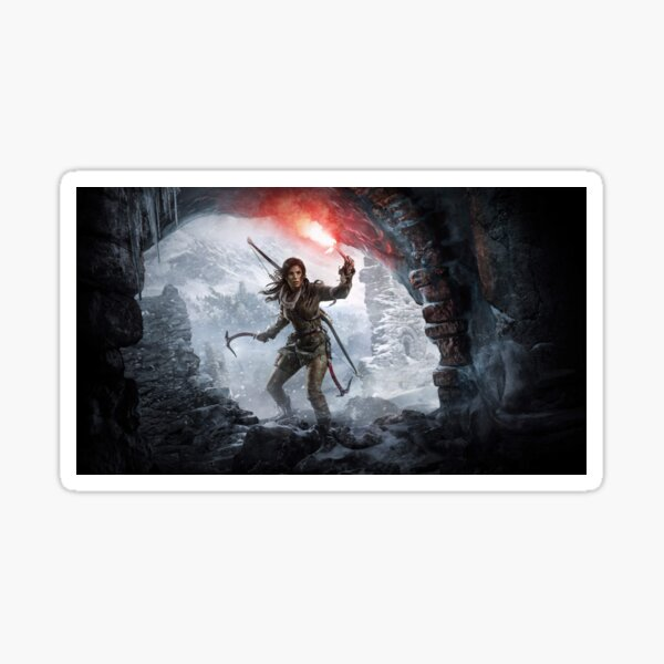 Rise of the Tomb Raider Sticker