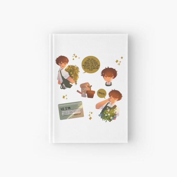 Plant Boy Milo Pattern Hardcover Journal Hardcover Journal