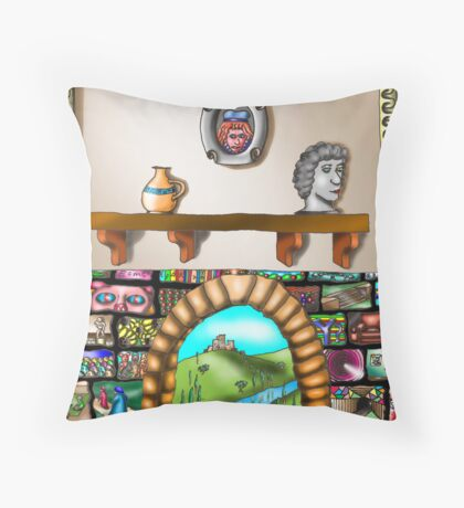 Y? Throw Pillow