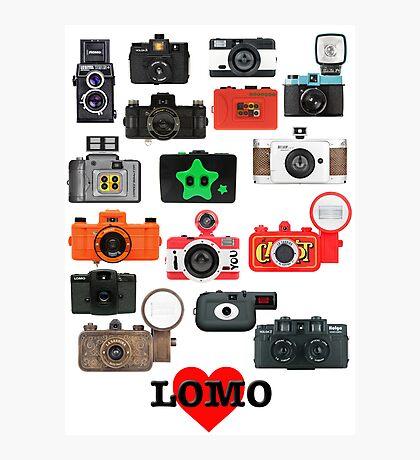 LOMO Photographic Print