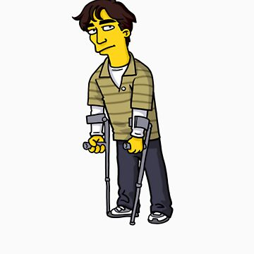 """Walter White Jr from """"Breaking Bad"""" by Simpsonized"""