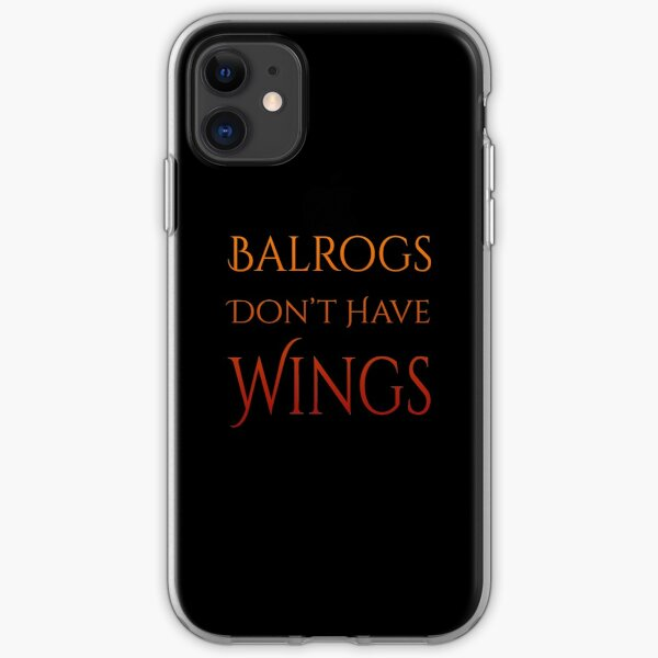Definitely No Wings iPhone Soft Case