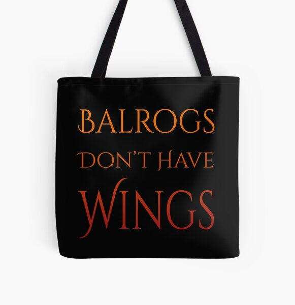 Definitely No Wings All Over Print Tote Bag