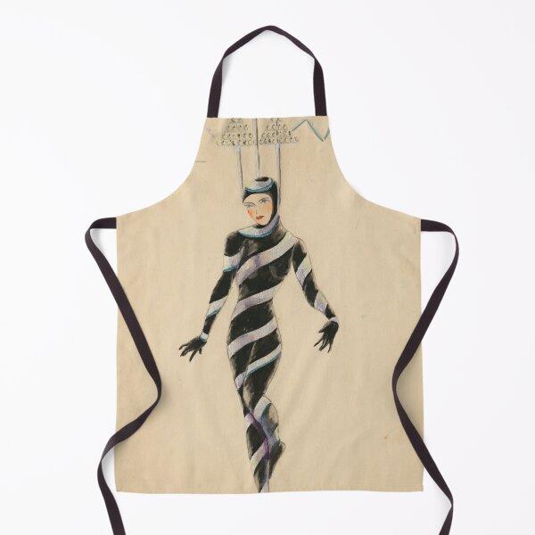 Afford costume designs: Morse code, 1935-1936 Apron