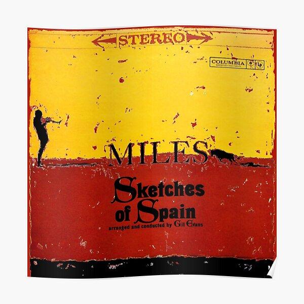 Croquis d'Espagne - Miles Davis Poster