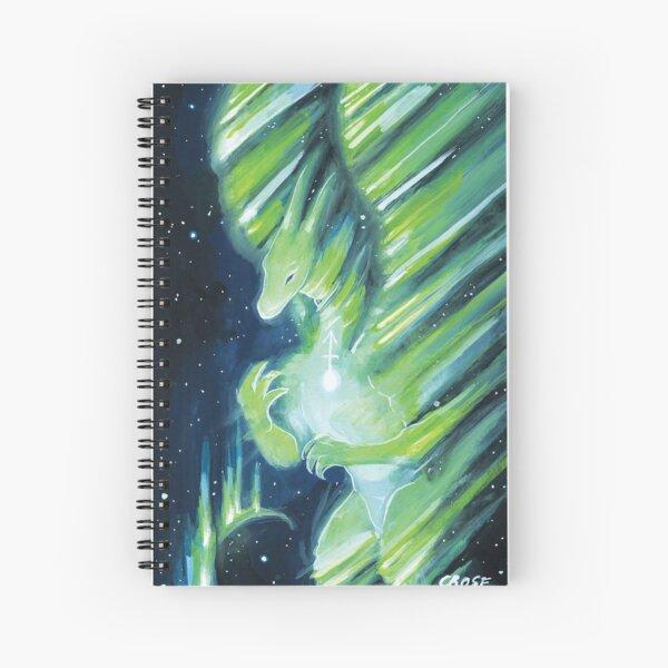 Sagittarius Dragon Spiral Notebook