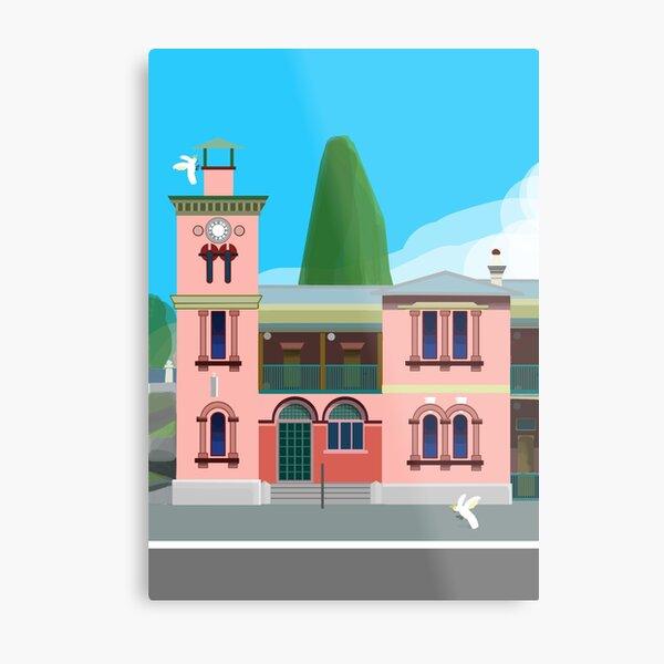 Kiama Post Office Historic Architecture  Metal Print