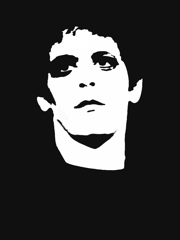 Lou Reed | Women's Fitted Scoop T-Shirt
