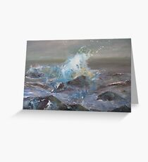 Spindrift Greeting Card