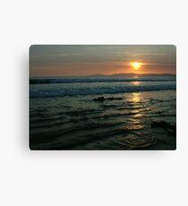 Rossnowlagh Sunset Canvas Print