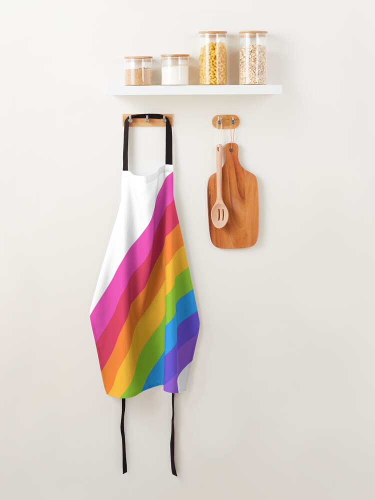 Alternate view of Rainbow Apron
