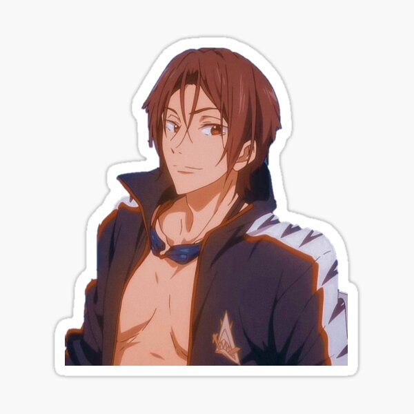 Rin Matsuoka Stickers Redbubble It was really funny and took till 6am. redbubble
