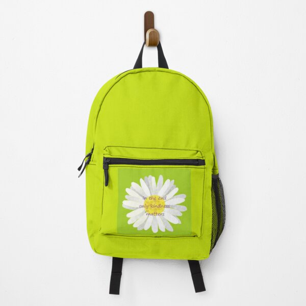 Only Kindness Matters Daisy Backpack
