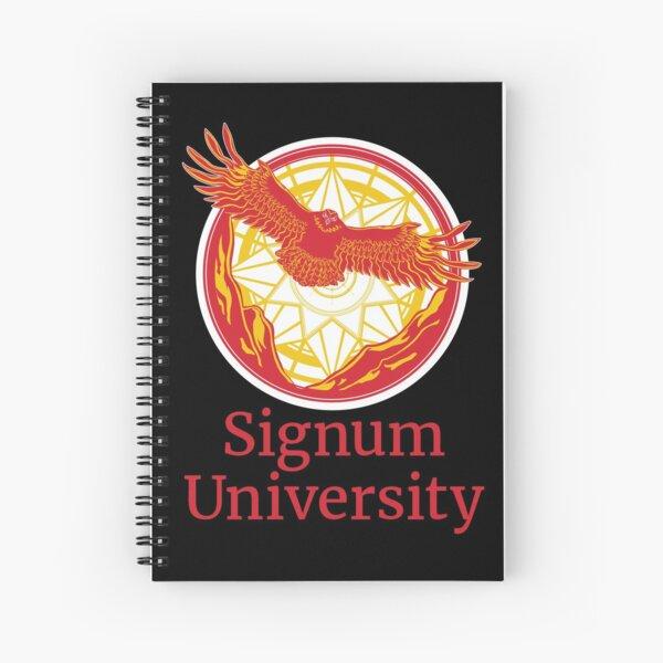 Signum University Logo Spiral Notebook