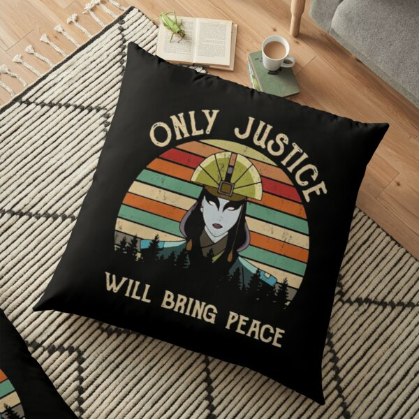 AVATAR KYOSHI - ONLY JUSTICE WILL BRING PEACE Floor Pillow