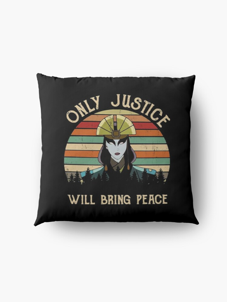 Alternate view of AVATAR KYOSHI - ONLY JUSTICE WILL BRING PEACE Floor Pillow