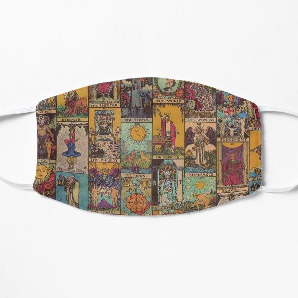 The Major Arcana of Tarot Vintage Patchwork Flat Mask