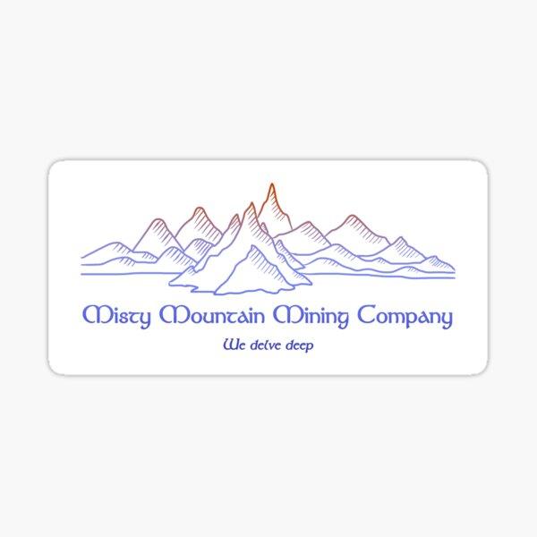 M.M. Mining Company Lt Sticker