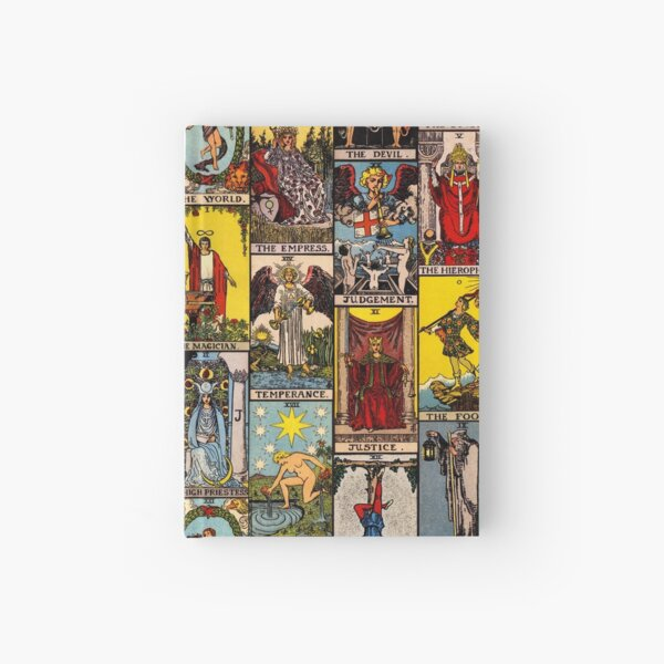 The Major Arcana of Tarot Hardcover Journal