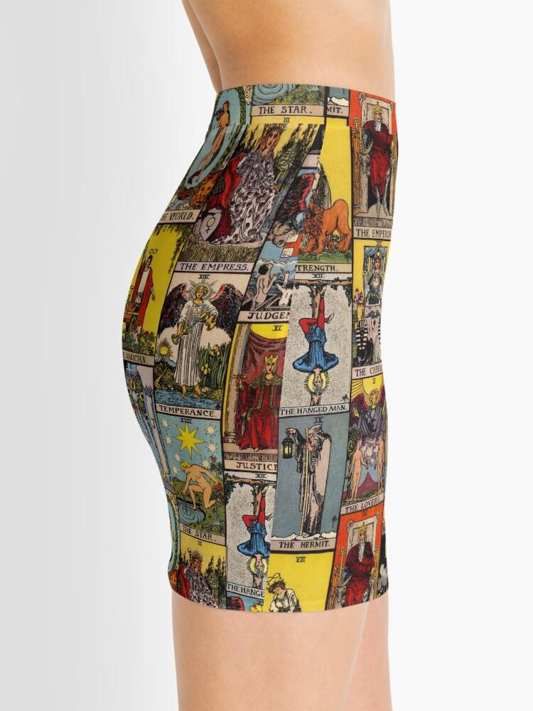 Alternate view of The Major Arcana of Tarot Mini Skirt