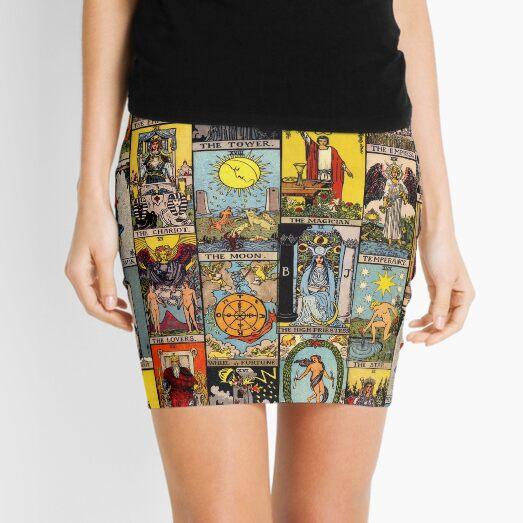 The Major Arcana of Tarot Mini Skirt