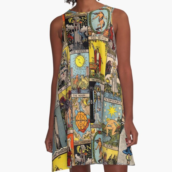 The Major Arcana of Tarot A-Line Dress